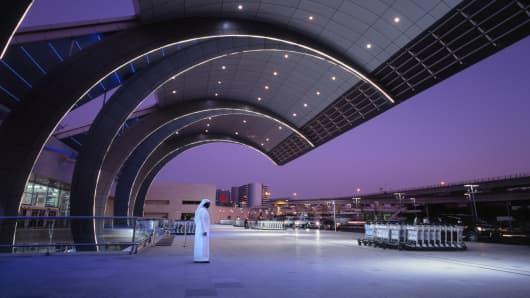 Dubai International Airport, UAE.
