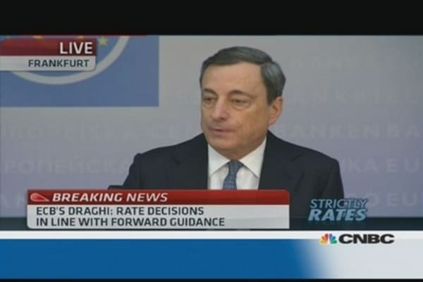 ECB stance to remain 'accommodative': Draghi