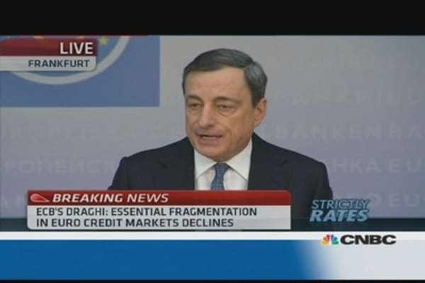 Euro zone still needs structural reforms: Draghi