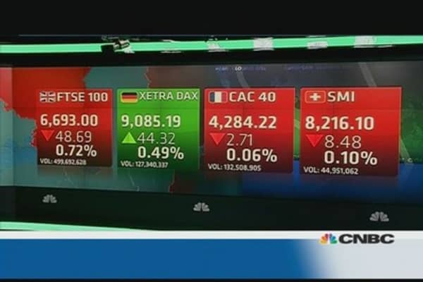 European market closes flat