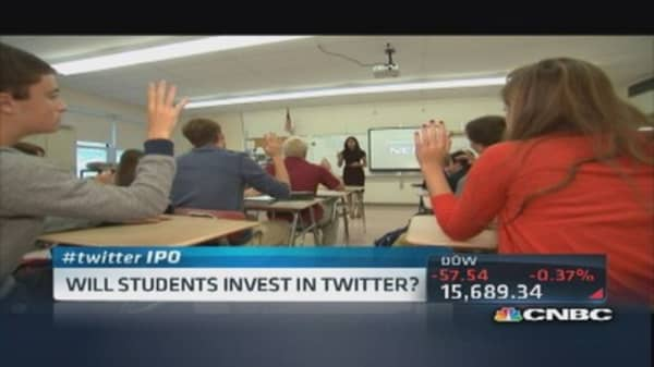 Will students invest in Twitter?