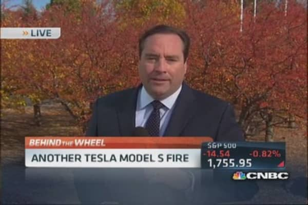 Tesla Model S fire under investigation