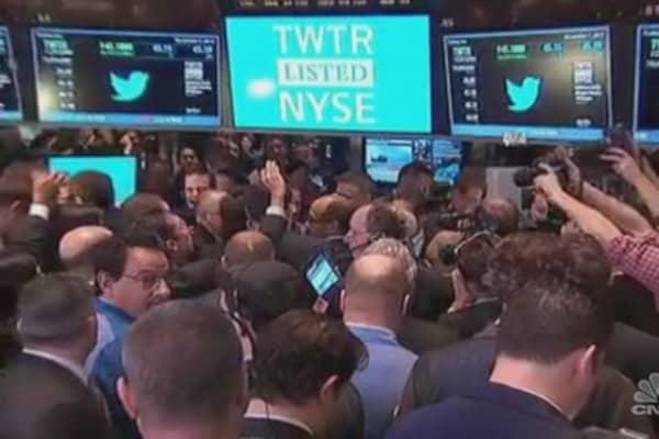 Twitter's CEO in focus