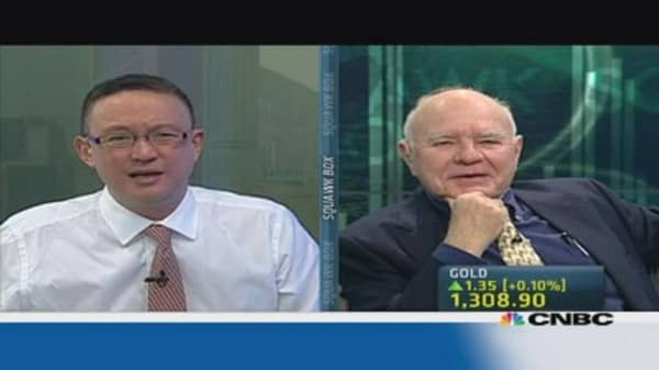 Marc Faber: Fed QE could hit $1 trillion a month