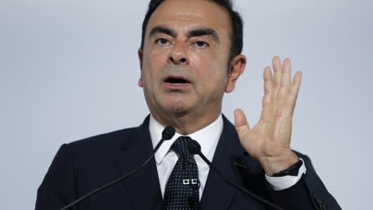 Carlos Ghosn, chairman and chief executive officer of Nissan Motor