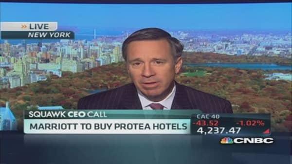 Africa an inspiring story today: Marriott CEO