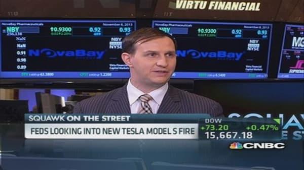 Tesla to blame for flame?
