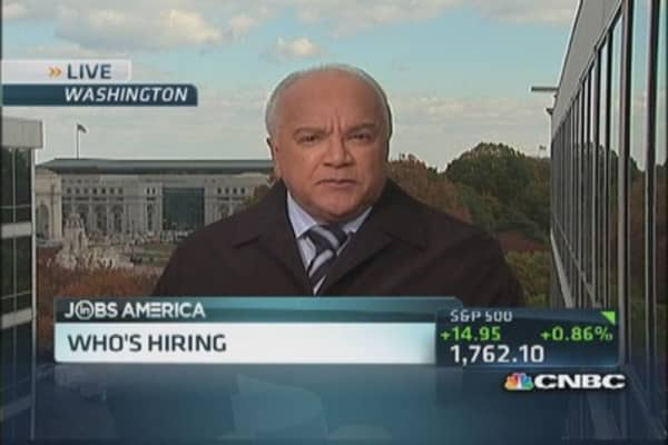 Great American hiring spree