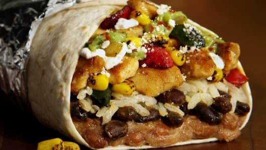Del Taco's Epic Fajita Burrito