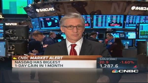 Pisani's market close: Recovered sectors