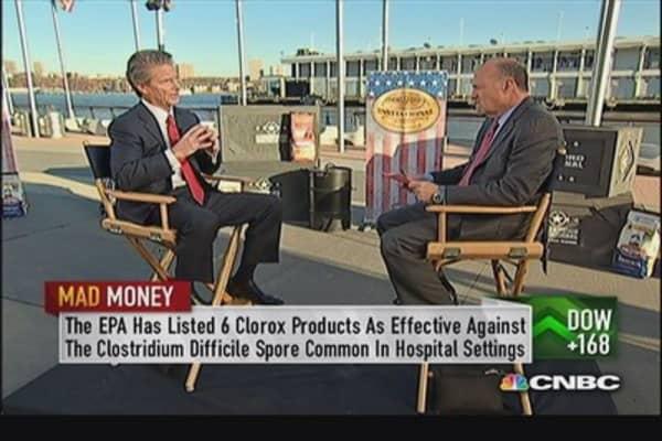 Clorox CEO: Burt's Bees grown double digits despite recession