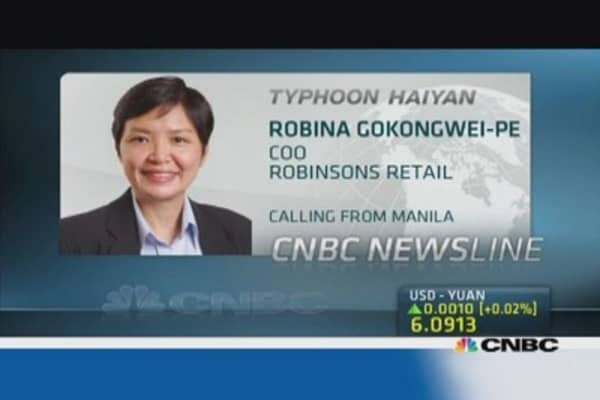 Robinsons: More than 50 stores hit by Haiyan