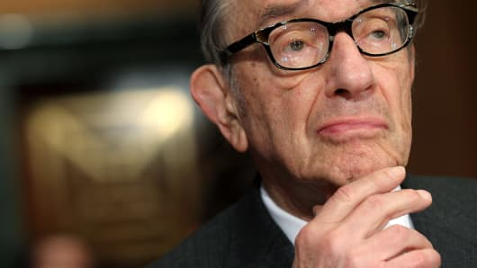 Former Federal Reserve Board Chairman, Alan Greenspan
