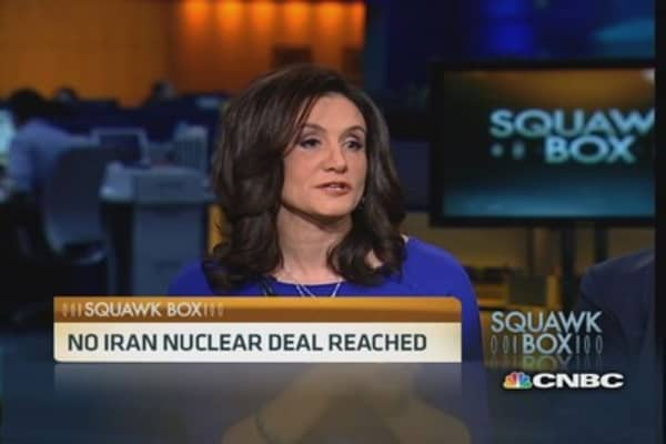 No Iran nuclear deal reached