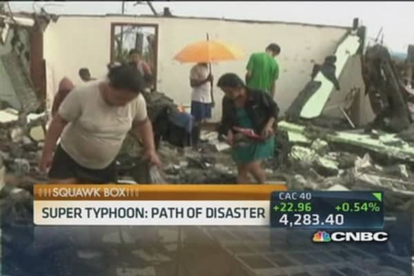 Over 4 million affected by Philippines typhoon