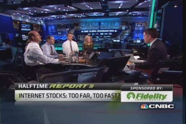 Internet sector peaking?