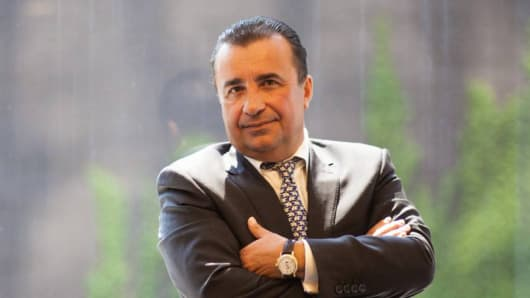 Gennady Perepada, an international real estate consultant, helps wealthy foreigners find luxury apartments and connections in New York.