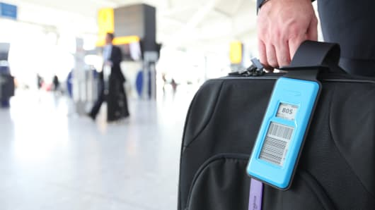 British Airways is testing a digital tag that can be programmed with flight details and baggage destination information.