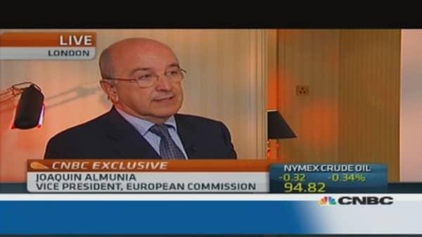 EU 'testing' Google's proposals: Almunia