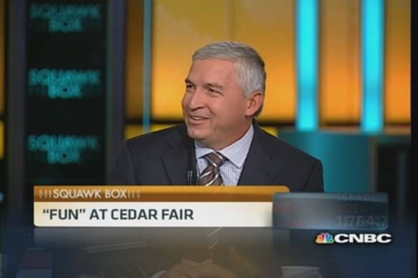 Cedar Fair CEO: Longest inverted roller coaster coming