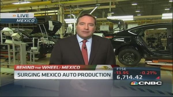 Mexico to export over 3 million vehicles this year