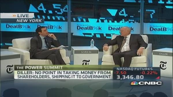 IAC's Diller: JPMorgan did the correct thing