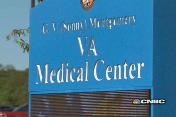 Unsterile surgical instruments at Jackson VA