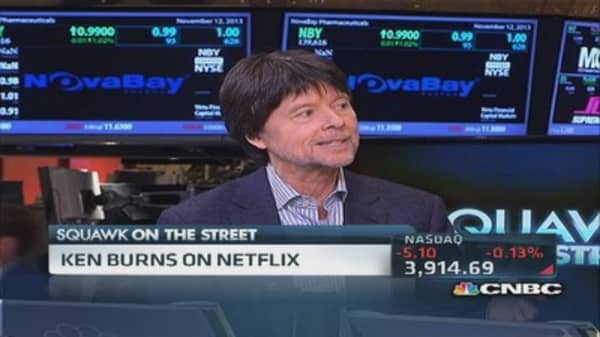 Ken Burns: Public TV the 'tortoise' as opposed to hare
