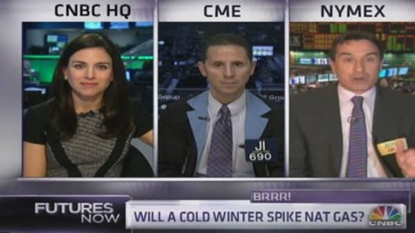 Will a cold winter heat up nat gas?
