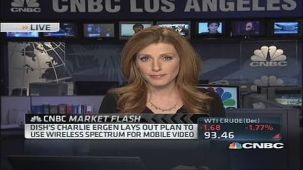 Dish's Ergen not ruling out T-Mobile aquisition