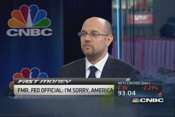 Big problems with QE: Former Fed official
