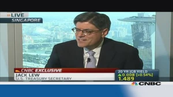 Japan must push through Third Arrow: Lew