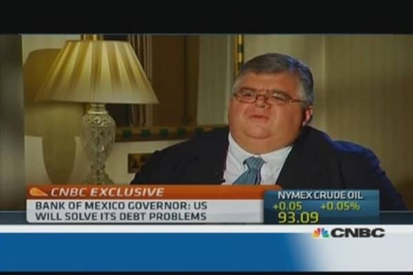 Tapering could be good for Mexico: Central Bank governor