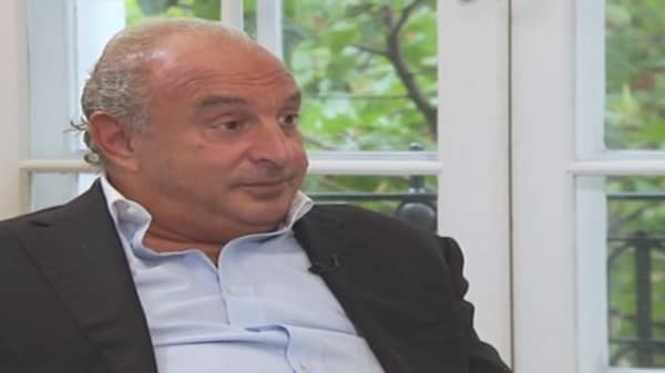 Topshop's Philip Green: I don't like department stores