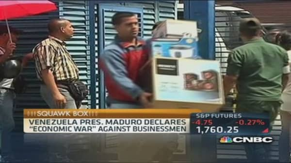 Venezuela's new take on Black Friday