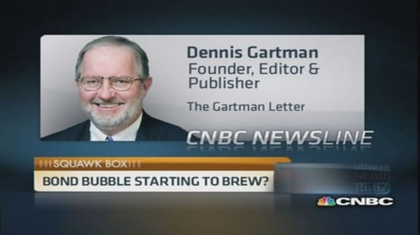 Rates will quietly edge higher: Gartman