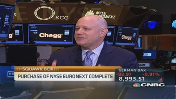 ICE CEO: Nothing like the NYSE