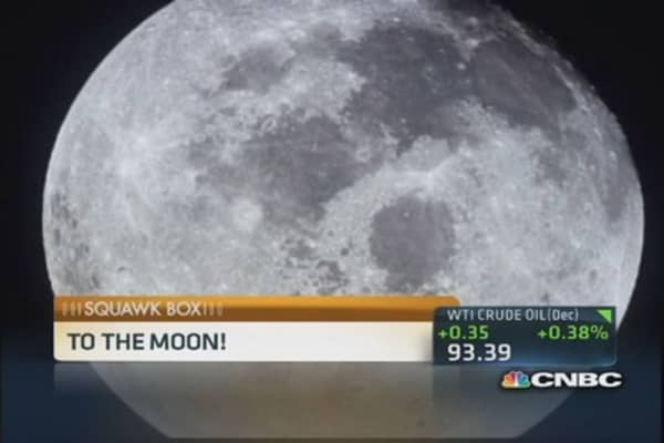 Should anyone own parts of the moon?
