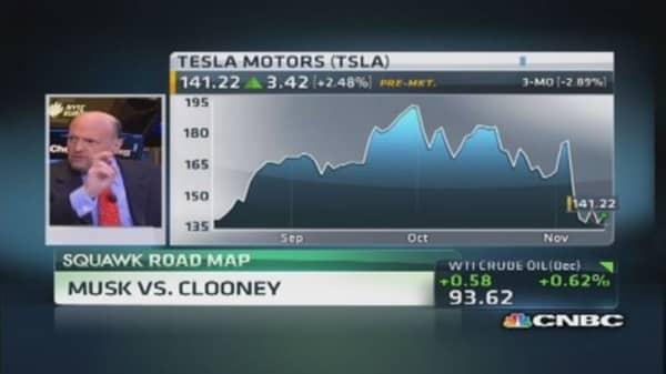 Elon Musk defends Tesla