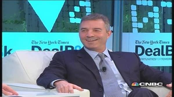 Hedge fund manger Loeb on pensions
