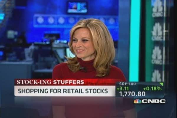 Holiday 'stock'ing stuffers