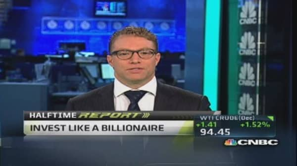 Invest like a billionaire