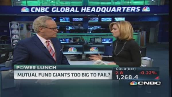 Mutual fund giants too big to fail?