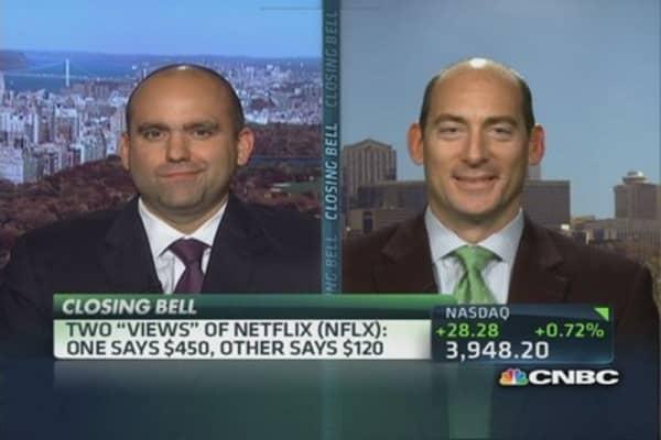 Weighing Netflix's leverage