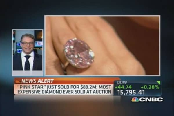 Pink Star diamond sets record with $83.2 million sale