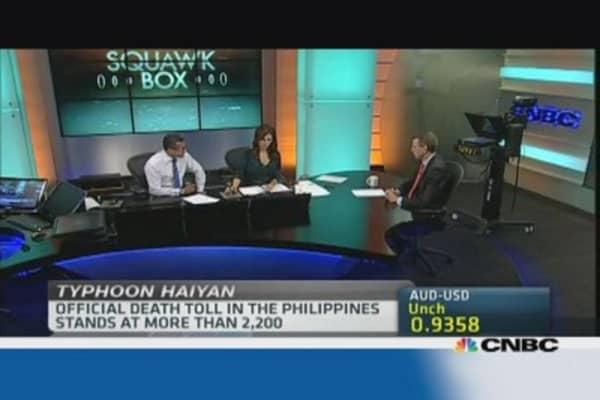 Haiyan won't derail Philippines growth: Pro
