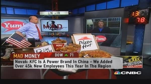 Taco Bell is our shining: Yum Brands CEO