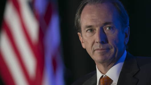 James Gorman, chairman and chief executive officer of Morgan Stanley