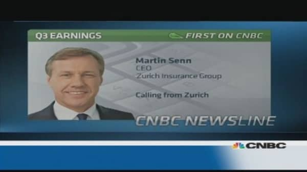 Search is ongoing for a new CFO: Zurich CEO