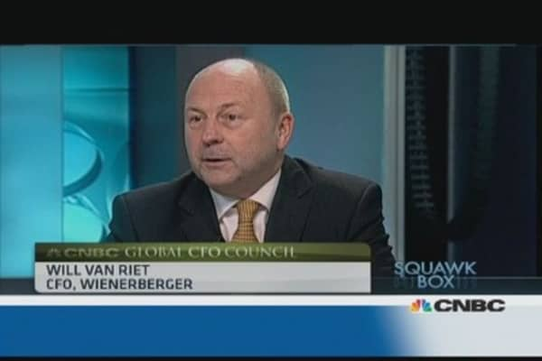We like European exposure: Wienerberger CFO